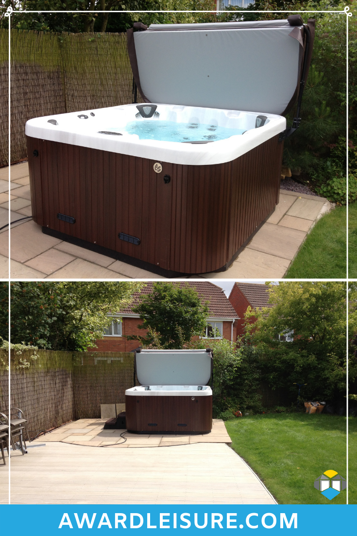 Jacuzzi 6 Places Leroy Merlin if you know you're going to have a hot tub in your garden