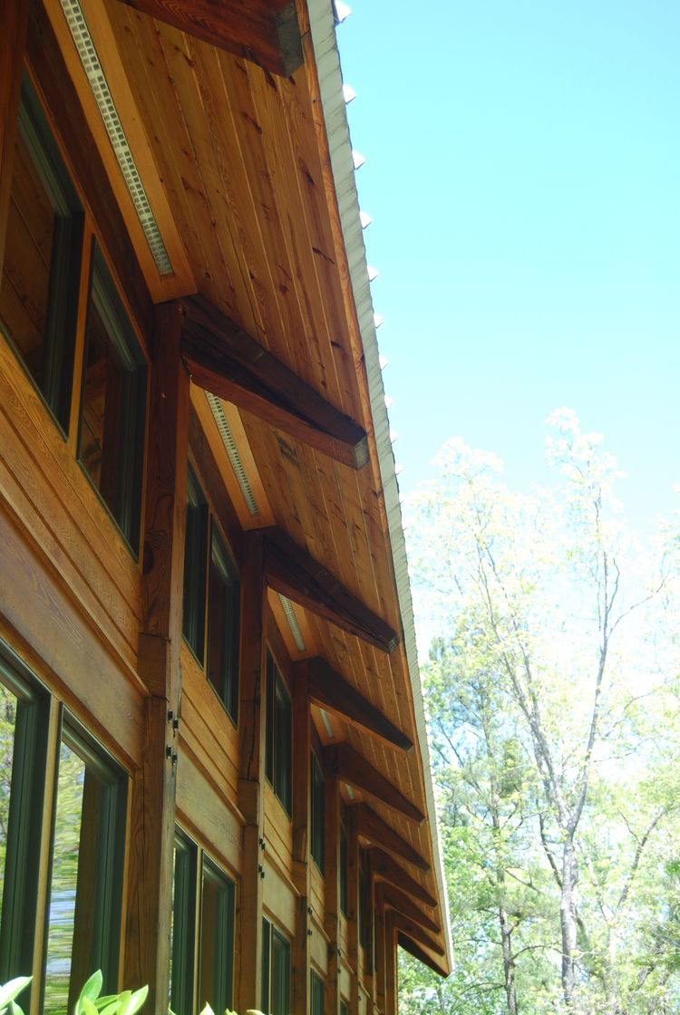 Architecture and interiors by krumdieck a i for Architectural wood siding