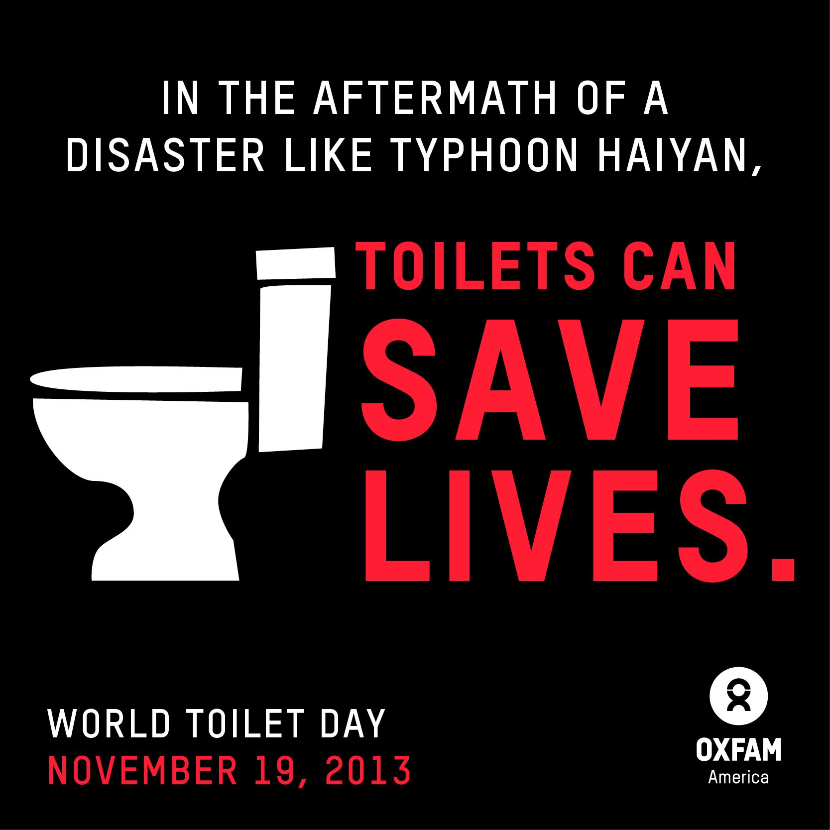 11-19-2013 #WorldToiletDay
