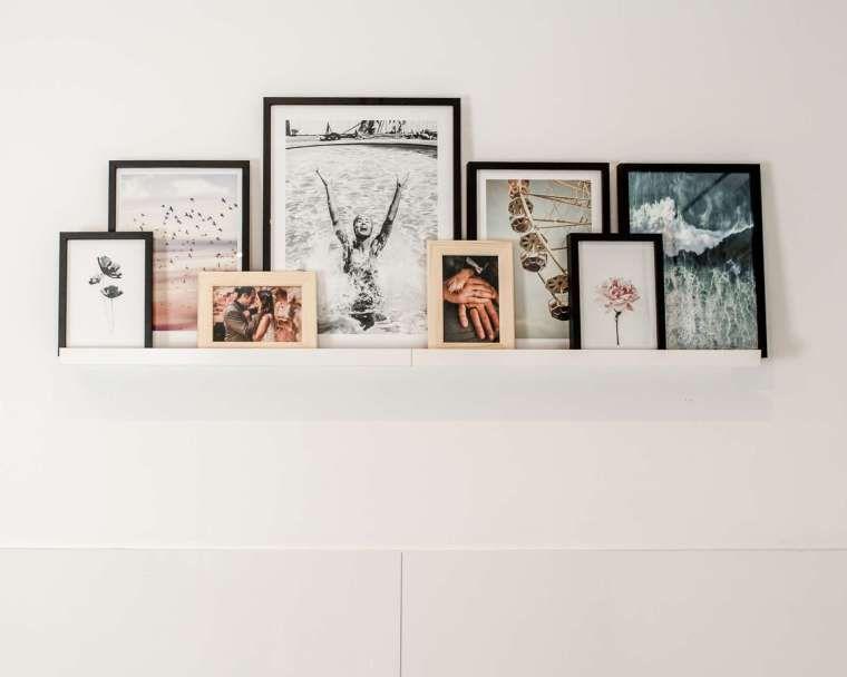 Wandgestaltung mit Bilderleiste & co. - mein Sommerfeeling im Bad - Tiffy Ribbon