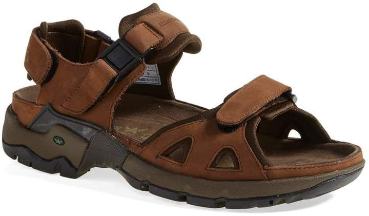fa3f97bc09d Men's Allrounder By Mephisto 'Alligator' Sandal, Size 6 - Brown in ...