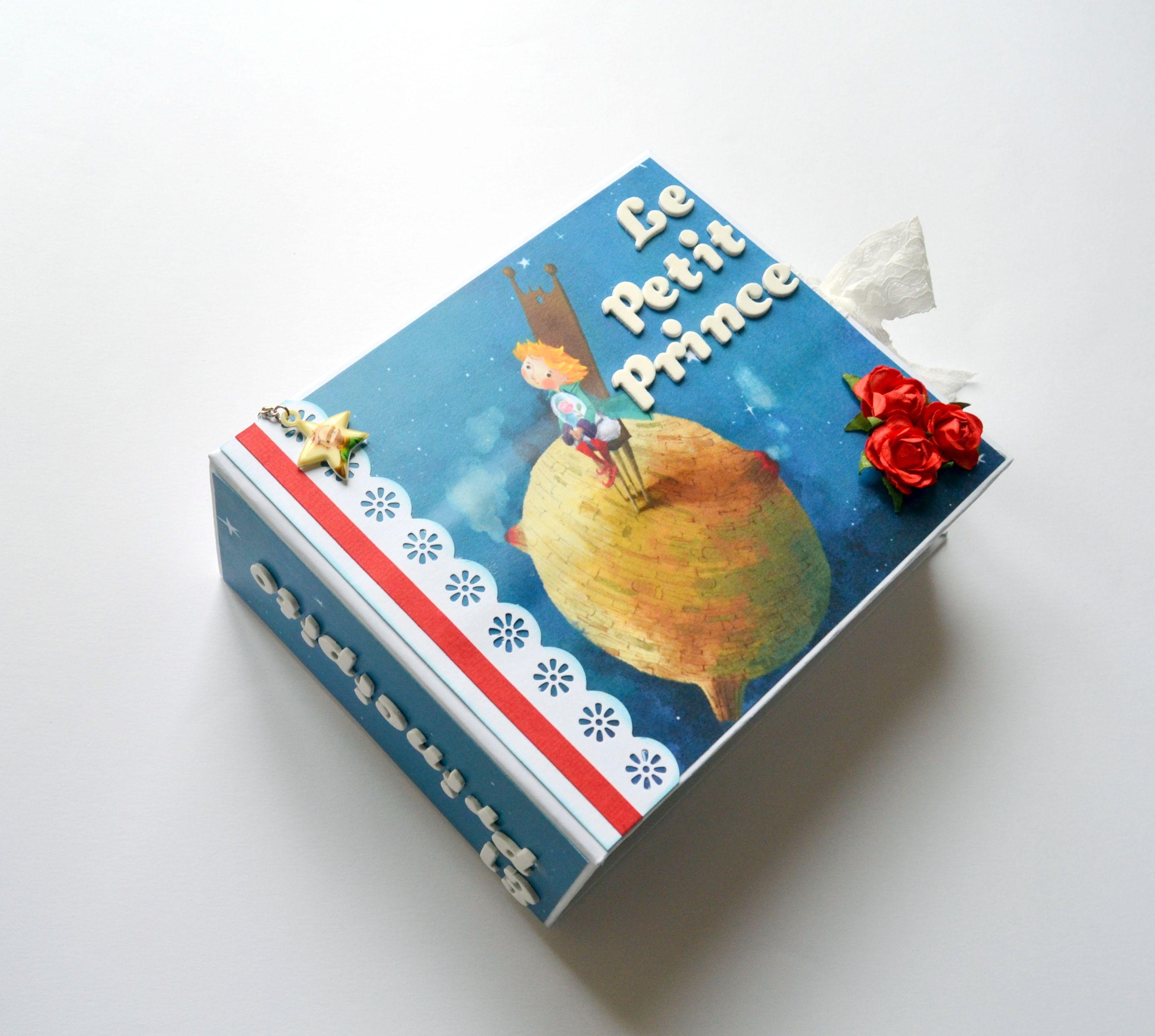 """lbum de """"El principito"""" scrapbooking regalos original"""