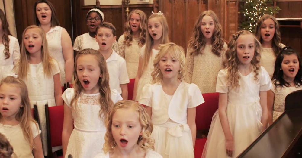I Am A Child Of God By One Voice Children S Choir Will Make Your Day Faithpot Choir Choir Dresses Worship Songs