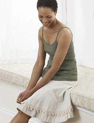 Yarnspirations.com - Patons Edging for Skirt - Patterns ...
