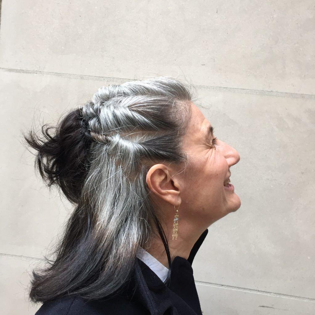 Sophie Fontanel Comment Passer De La Coloration Aux Cheveux