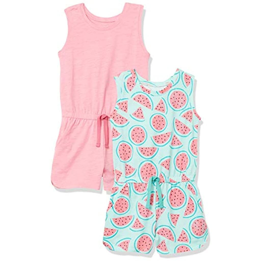 Spotted Zebra Girls Knit Sleeveless Rompers Brand