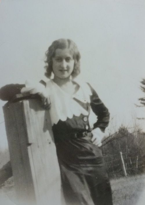 Found photo from my collection, circa 1930s.