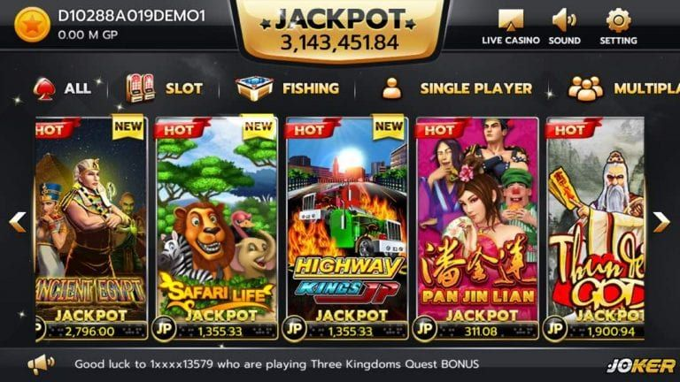 Joker123 Gaming Download File Register Joker Login Id Online Free Free Casino Slot Games Online Casino Games Casino
