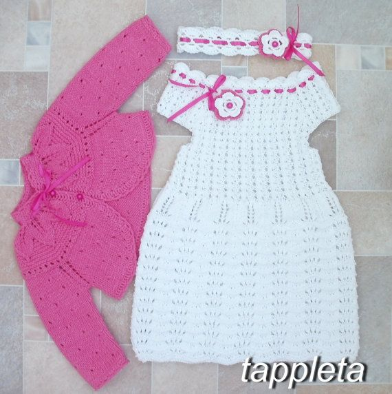 f#reeshipping 1 year #girl set white #dress bolero от #tappleta