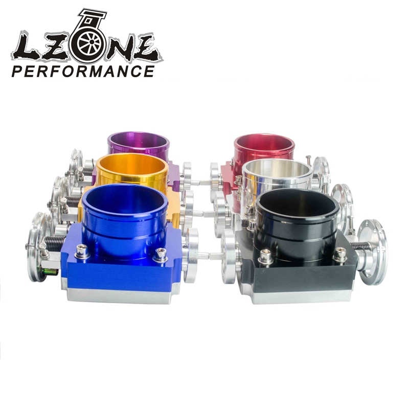 63.62$  Buy here - http://ali3k7.worldwells.pw/go.php?t=32787972578 - LZONE RACING- FREE SHIPPING NEW THROTTLE BODY 80MM THROTTLE BODY PERFORMANCE INTAKE MANIFOLD BILLET ALUMINUM HIGH FLOW JR6980 63.62$