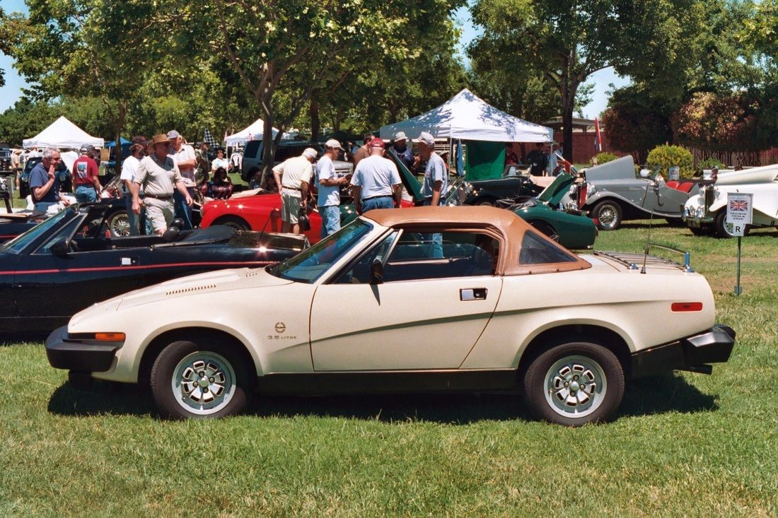TR7 and TR8 External colors - Triumph Wedge Owners Association ...