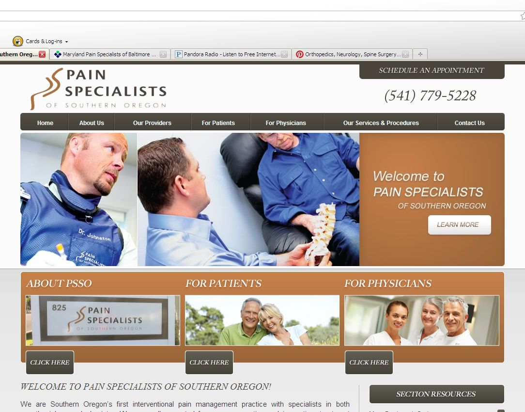 Httppainspecialists Pain Specialists Of Southern Oregon