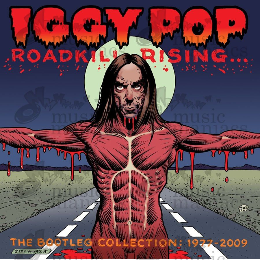Iggy Pop Album Covers Amazing iggy-pop-roadkill-rising-the-bootleg-collection-1977-2009 | iggy
