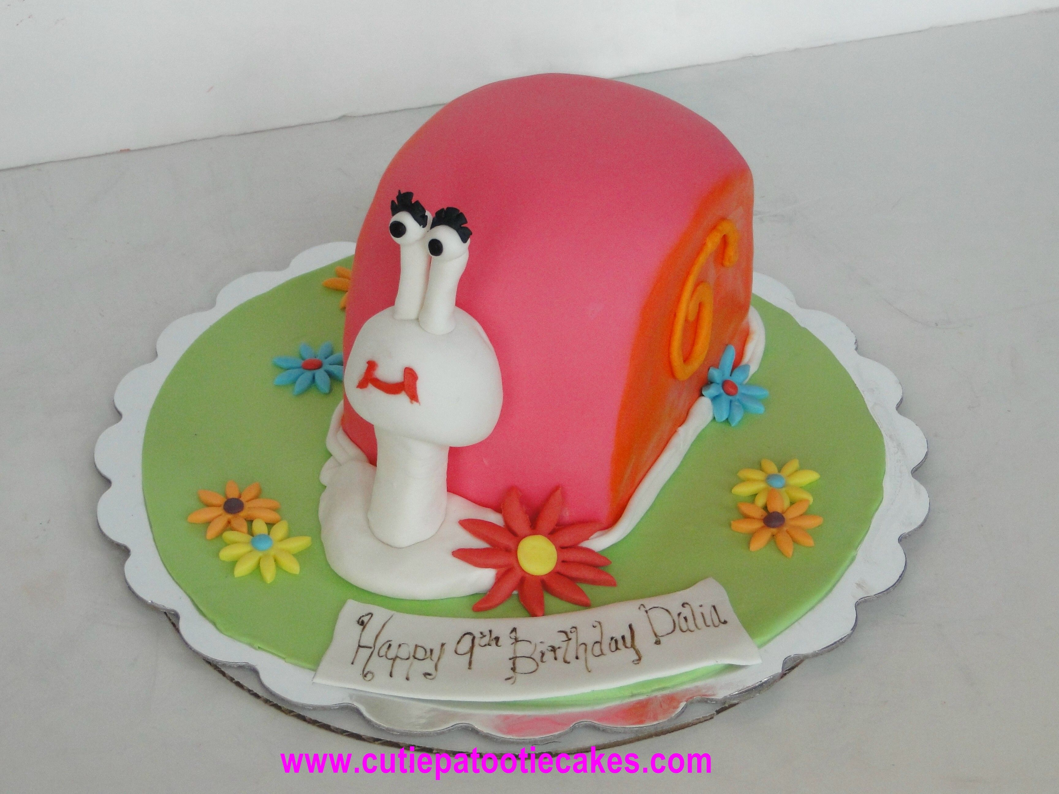 Snail Cake Cakes Cupcakes And More Pinterest Snail Cake Cake