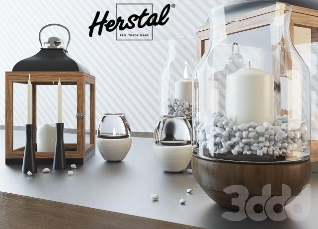 3d модели: Другие предметы интерьера - Herstal candle