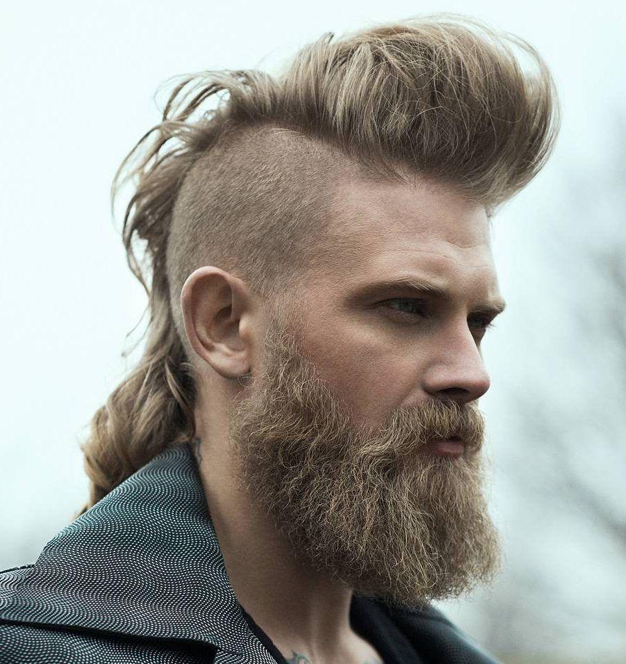 Cortes De Pelo Para Hombres Tipo Mohicano Barberos Pinterest