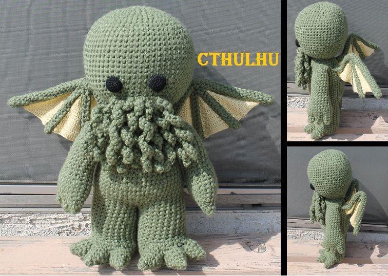 Cthulhu by crochetkitten.deviantart.com on @DeviantArt