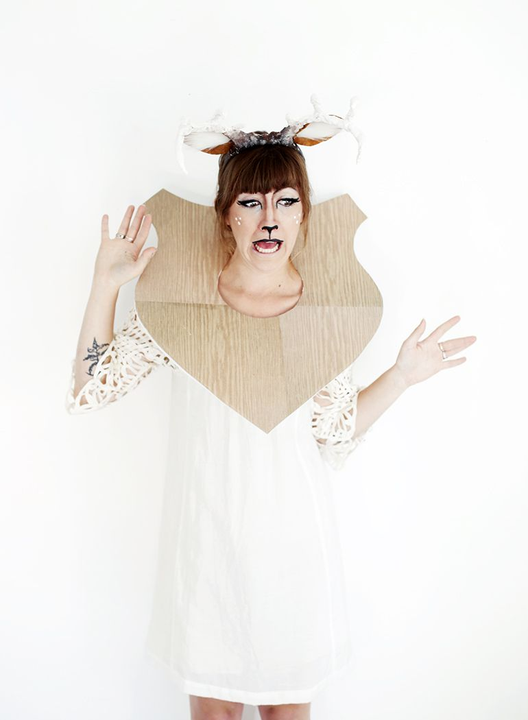 DIY Taxidermy Deer Costume | Deer costume, Costumes and Home-made ...