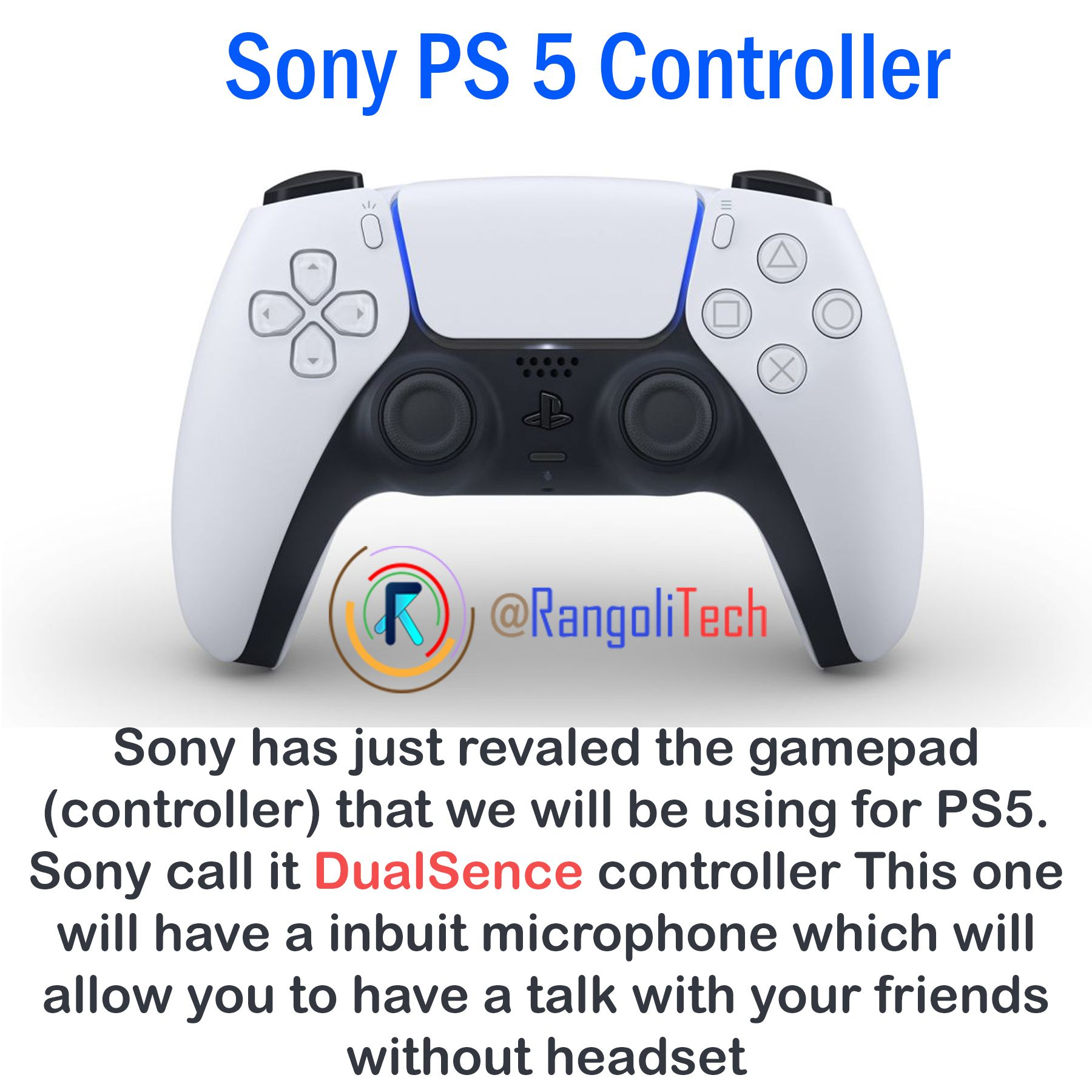 Tech news PS 5 controller in 2020 Cool bikes, Control