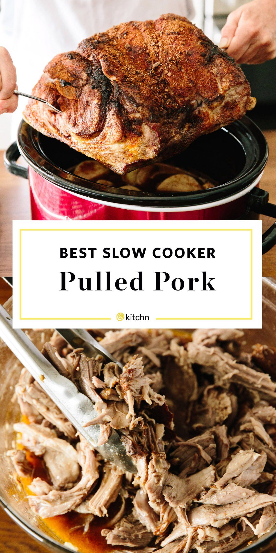 How To Make Pulled Pork In The Slow Cooker Recipe Bbq