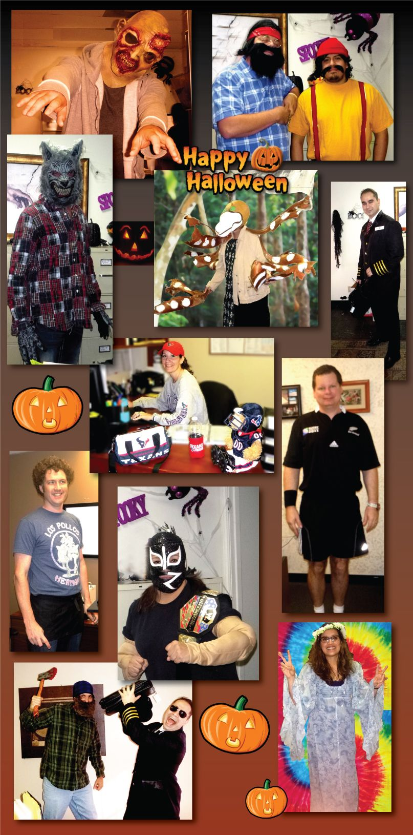 Our Halloween 2014 costume contest was lots of fun!