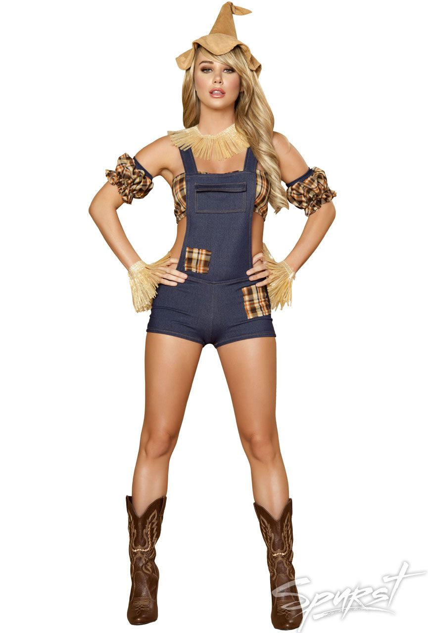 www.spurst.com. Scarecrow Maiden Costume | Halloween- I'm going to ...