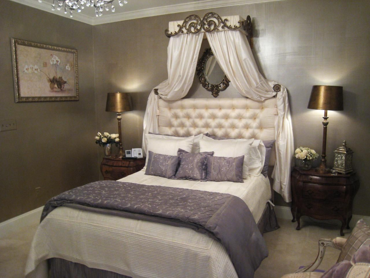 Bedroom Decor, Bed Crown