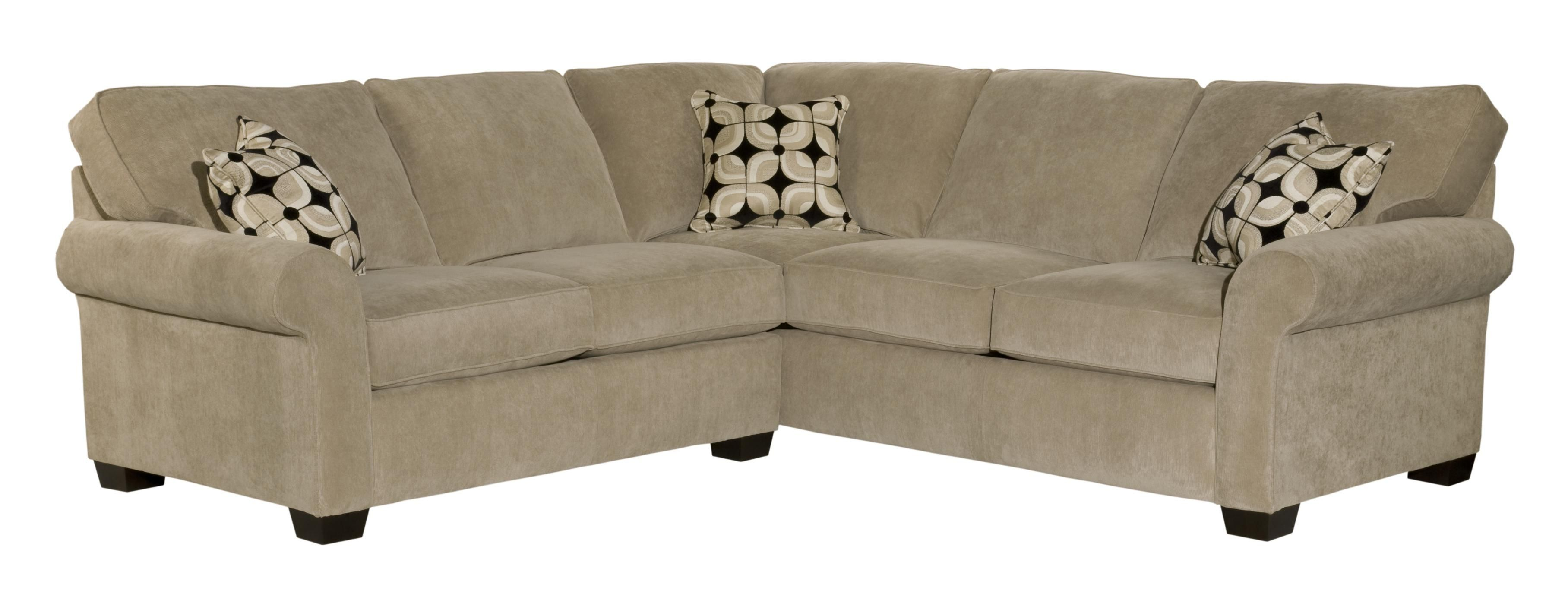 Ethan Two Piece Sectional by Broyhill Furniture HudsonsFurniture