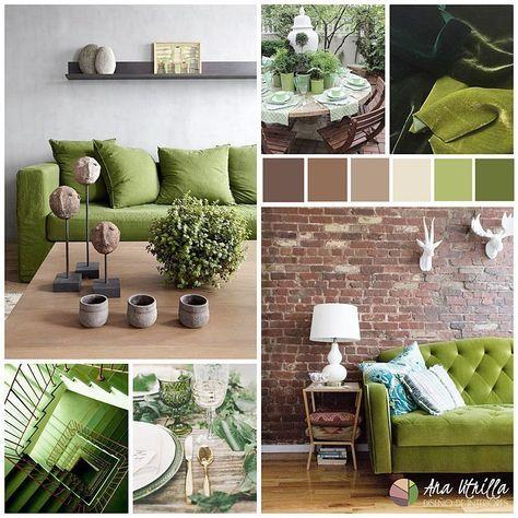 Greenery En Tu DecoraciÓn Color Pantone 2017 Por Ana Utrilla Interiorismo