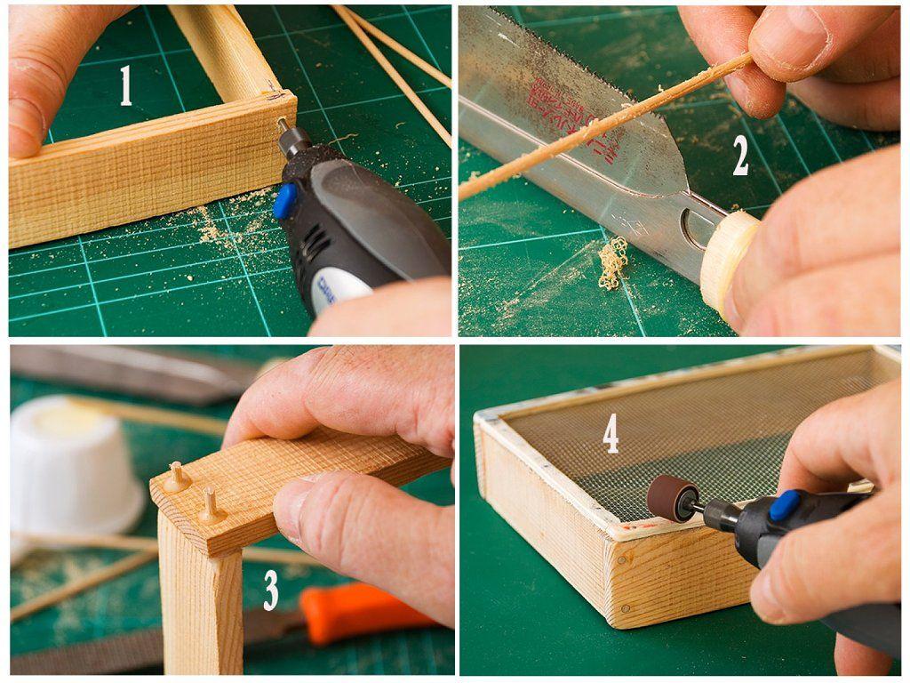 Truco de carpintería para reforzar marcos pequeños | trucos en ...