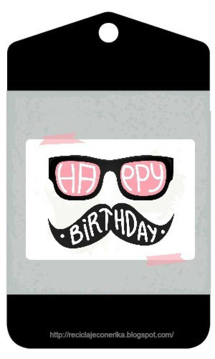 Envoltorios únicos DIY: Etiquetas imprimibles para cumpleaños ...
