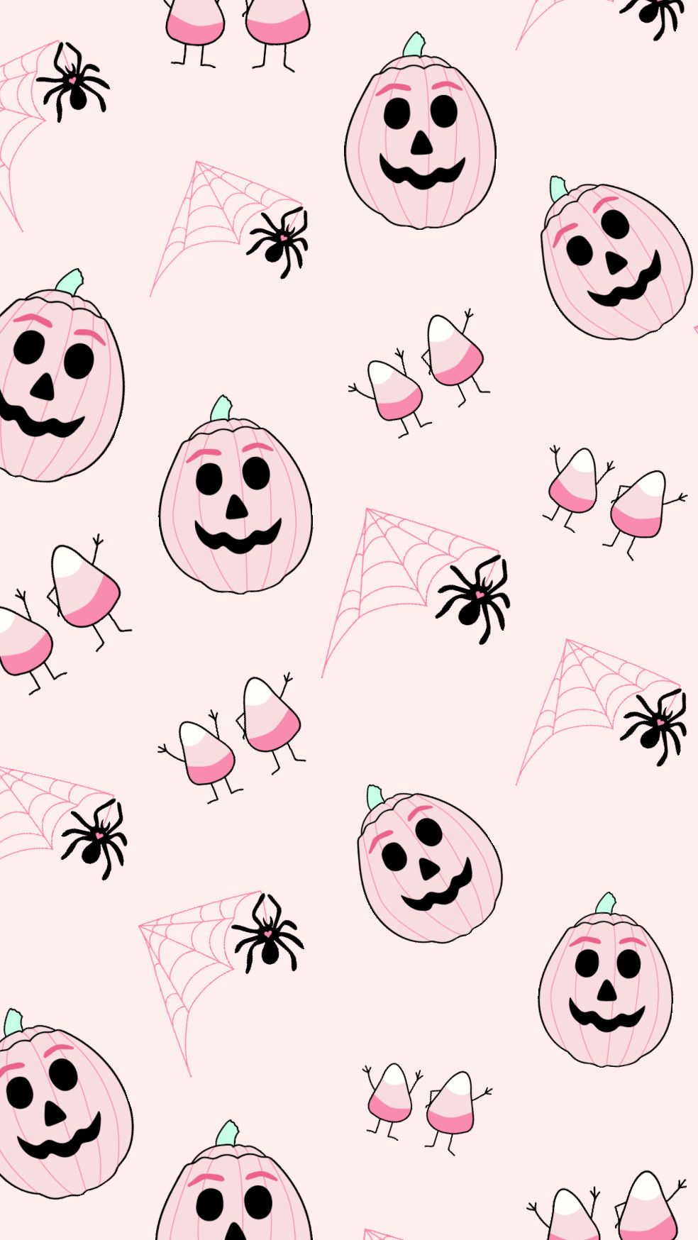 Pin By Lizzykits On Spooky Cute Halloween Wallpaper Iphone Halloween Wallpaper Pink Halloween