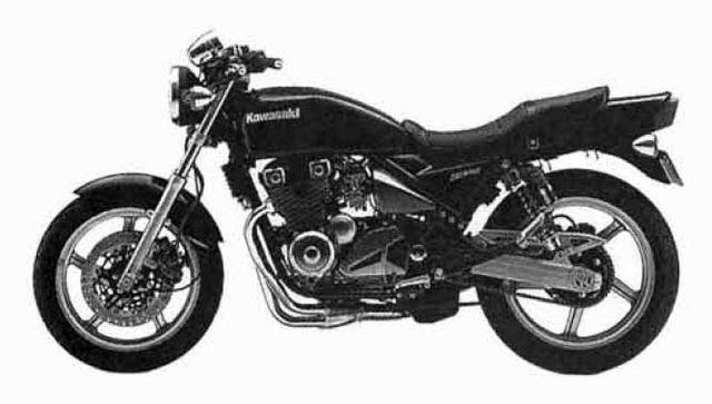Kawasaki zr 550 fotos y especificaciones técnicas, ref