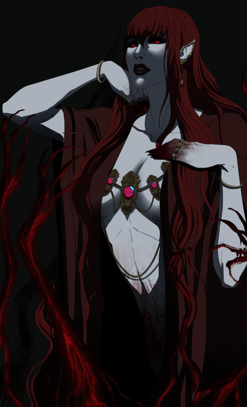 Camilla- Vampire Queen|Badassery women | Creature concept ...