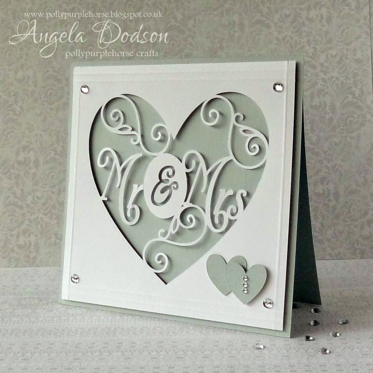 cricut wedding cards Google Search cricut