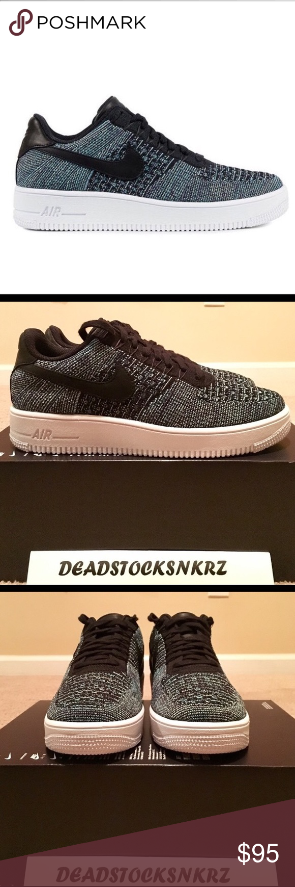 Nike Air Force 1 Ultra Flyknit Low QS RESTOCKED!! ColorVapor