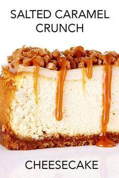 Salted Caramel Cheesecake Crunch Recipe — Bite Me
