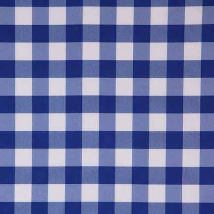 Tablecloth Blue White Gingham Linen Effects Wedding Party