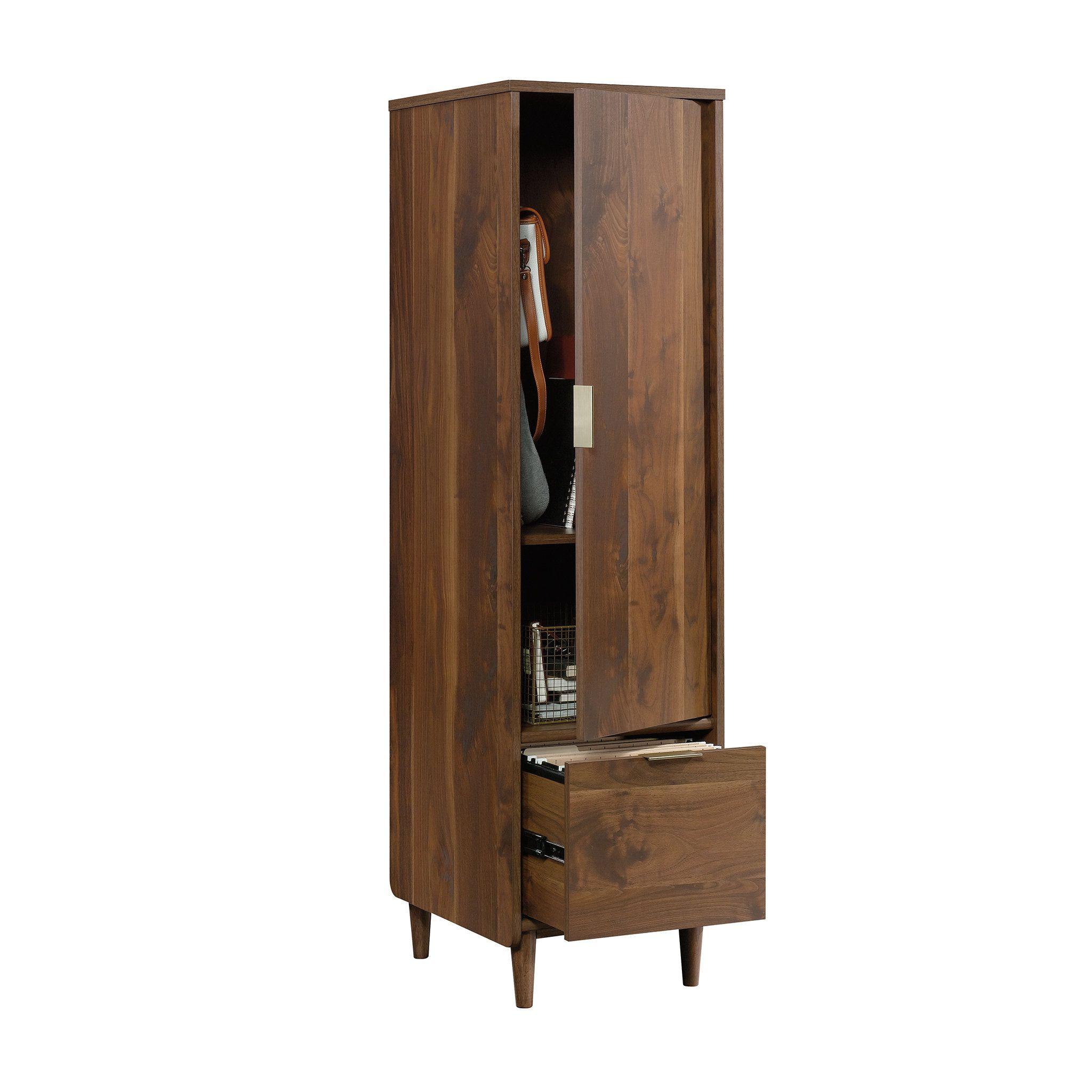 Cutrer 1 Drawer Vertical Filing Cabinet Filing Cabinet Cabinet Office Storage Furniture