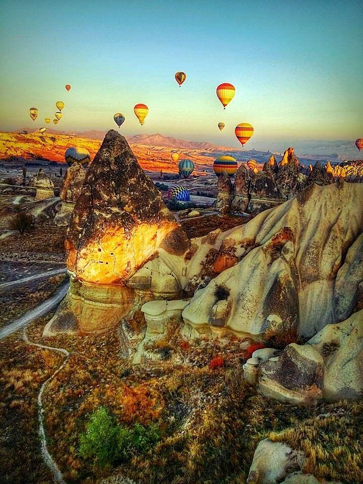 Cappadocia Turkey Hot Air Balloon Ride 3 by sevgik