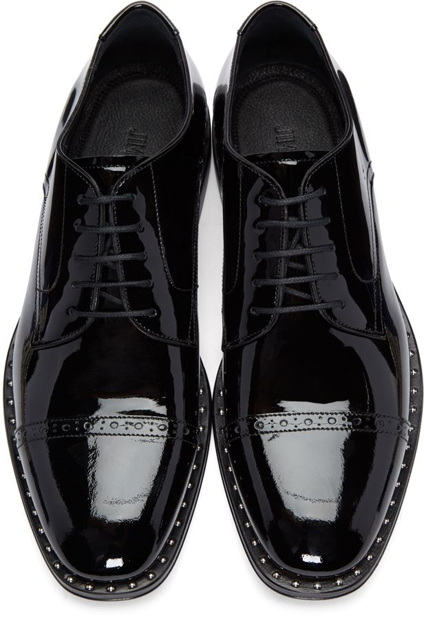 Jimmy Choo: Black Patent Leather Penn