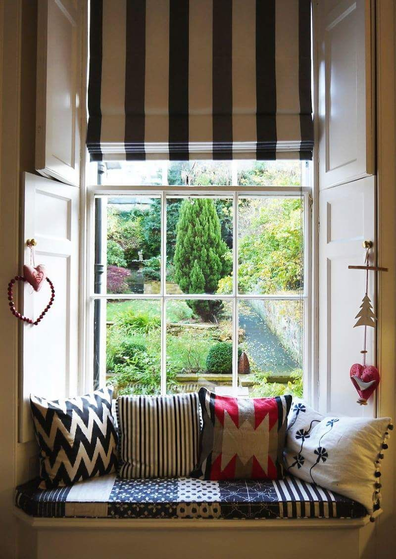 Kitchen nook window treatments  my serenity  home decoration  pinterest  serenity window and cozy