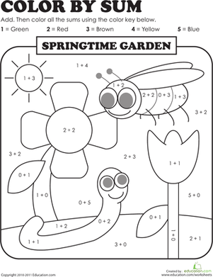 math worksheet : 1000 images about kleuren volgens cijfercode on pinterest  color  : Kindergarten Math Coloring Worksheets