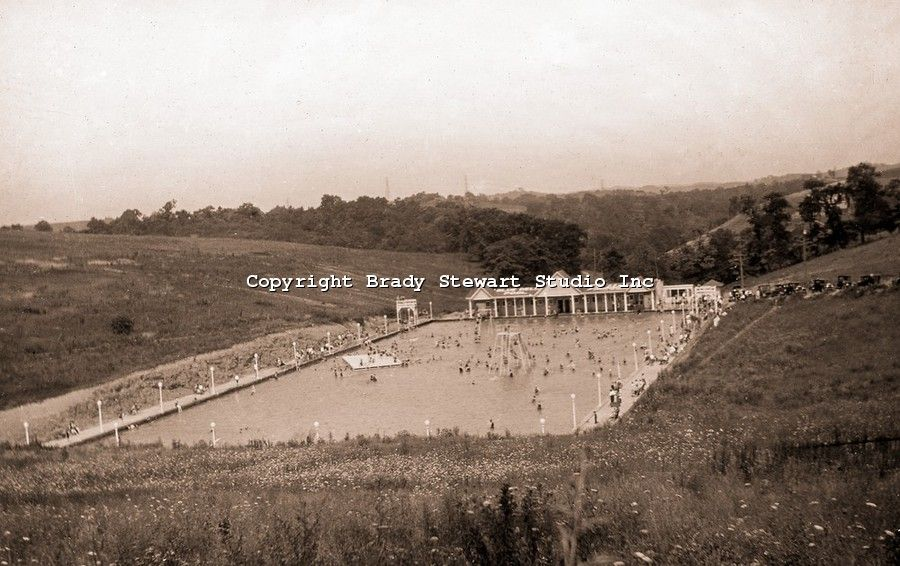 Blue Dell Swimming Pool This Is An Old Picture The