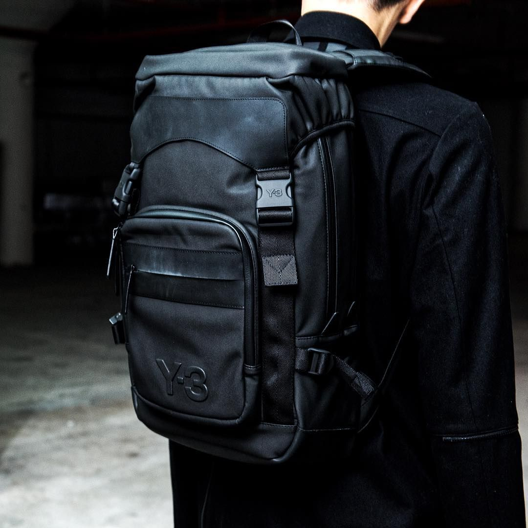 fb1c0e967910 The futuristic Y-3 Ultratech Backpack is available soon on Y-3.com.  Y3   adidas