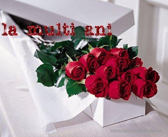 Buchet De Flori La Multi Ani Buchete Flori Felicitări
