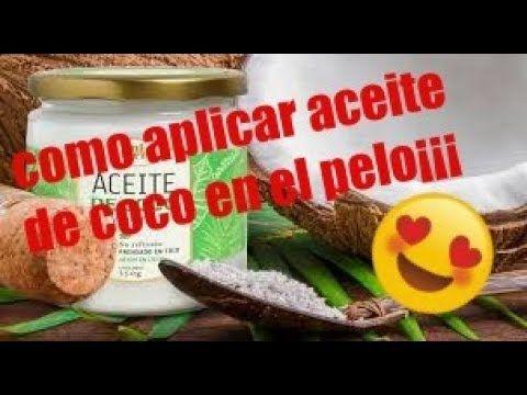 Como Aplicar El Aceite De Coco En El Cabello Para Una Reparación Profunda Aceite De Coco Coco Cuidado Del Cabello