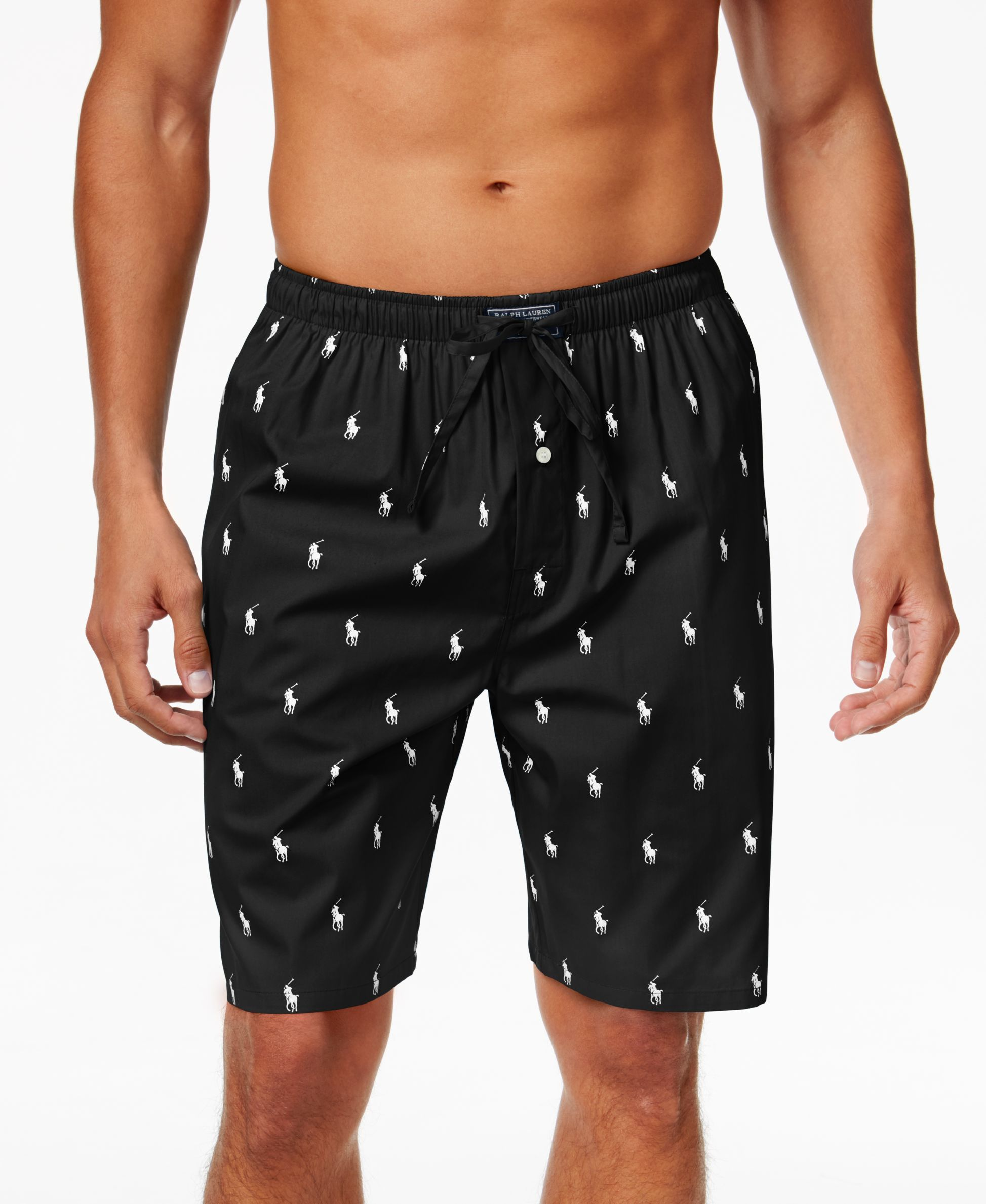 340393a6b0 Polo Ralph Lauren Men's Woven Pony Player Sleep Shorts … | Things ...