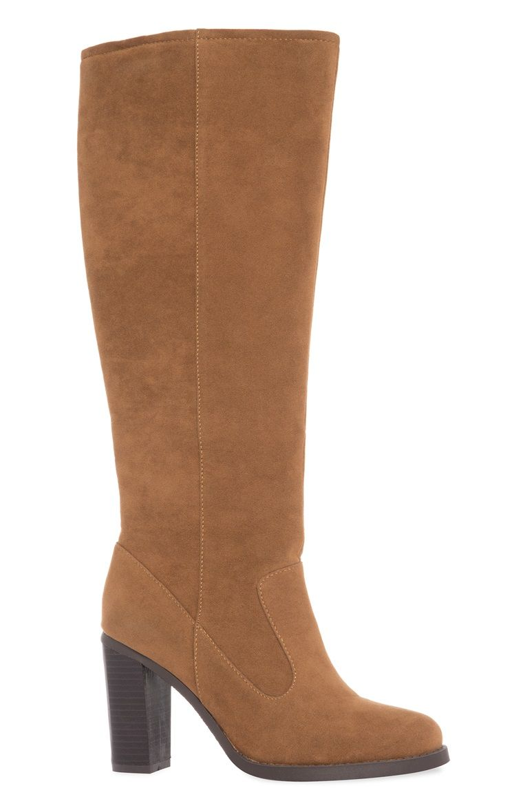 Primark - Tan Suede Knee High Boot | My Style | Pinterest | More ...
