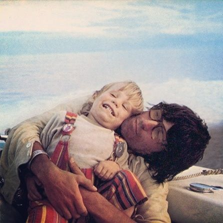 Keith Richards & his son Marlon